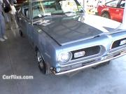 1969 Plymouth Barracuda Blue